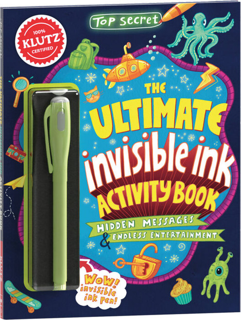 ultimate invisible ink make-it kit for kids