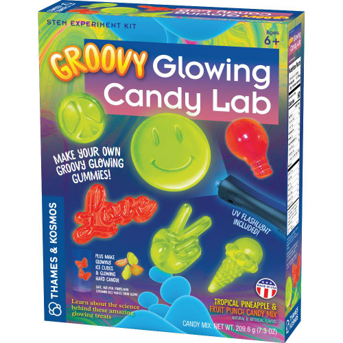 groovy glowing candy lab science kit
