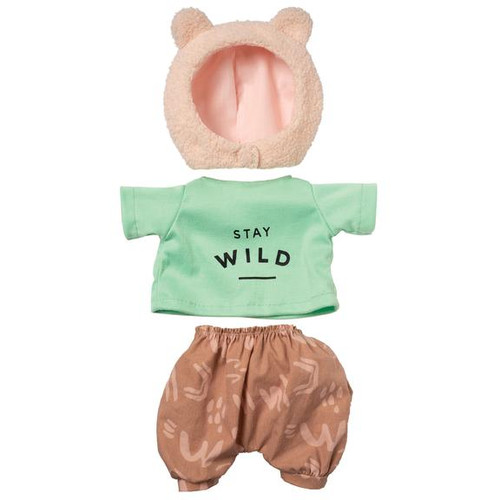baby stella doll outfit, stay wild