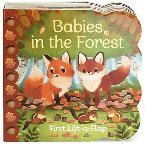 Lift-A-Flap-Babies in the Forest