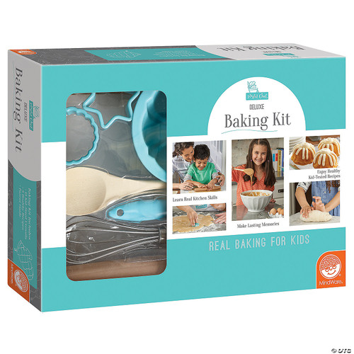 Playful chef deluxe baking kit shown in box