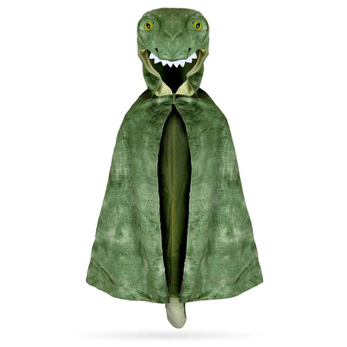 T-Rex Hooded Cape 4-5yrs