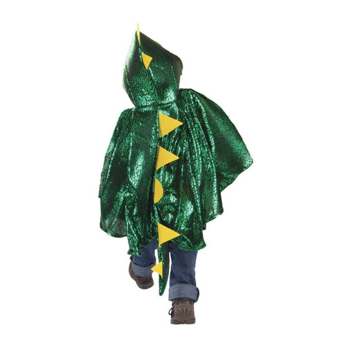great pretenders shiny green dragon cape costume for toddlers