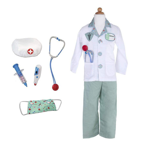 Great pretenders doctor costume for kids with accessories