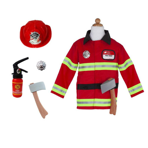 great pretenders firefighter costume with accessories