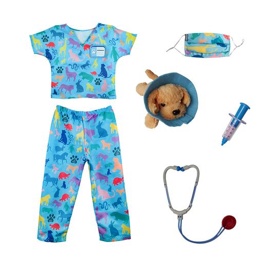 Great pretenders vet costume for kids with accessories