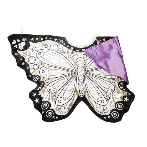 great pretenders butterfly wings colouring cape for kids