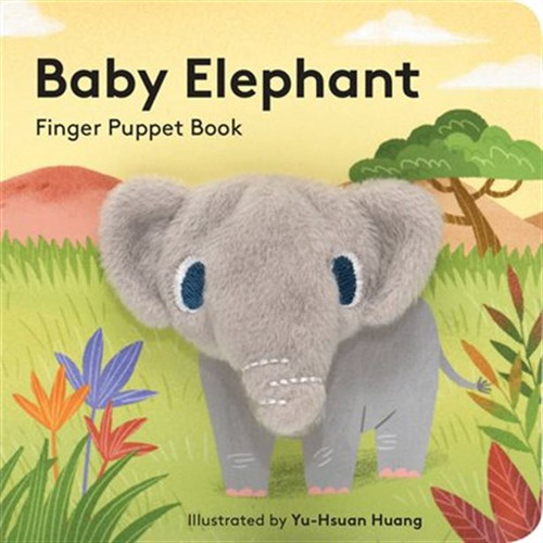 Puppet Book - Baby Elephant