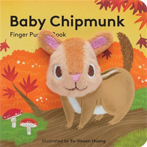 Puppet Book - Baby Chipmunk