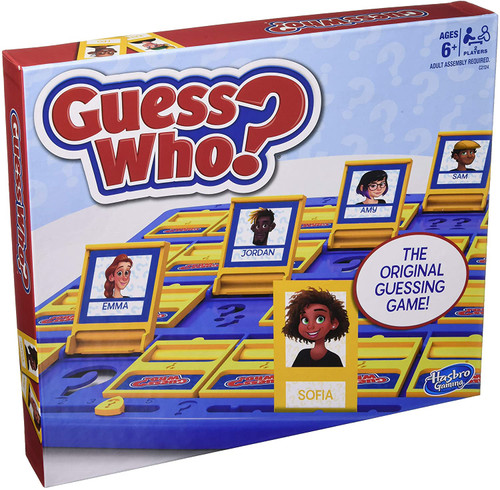 guess who classic game in box