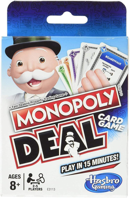 monopoly deal card game box