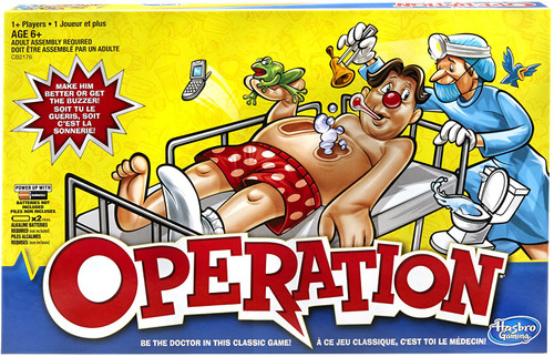 operation boxed game for kids