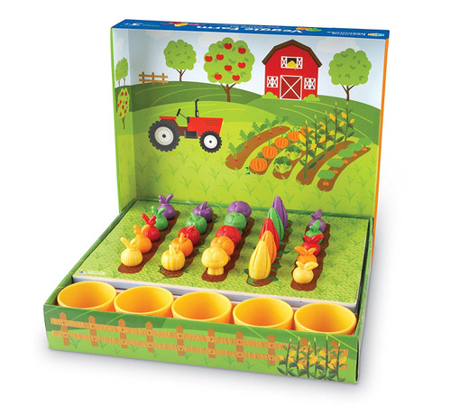 learning resources veggie farm sorting set for small kids
