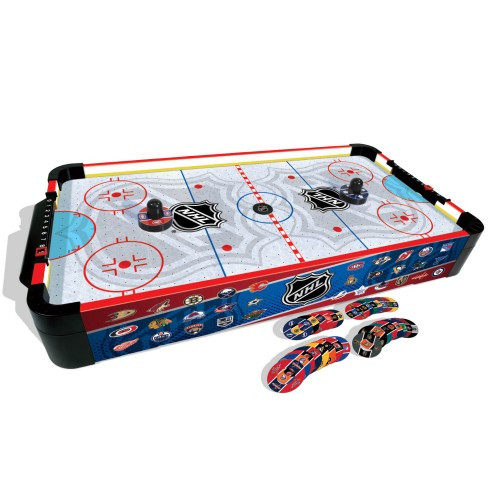 """16"""" nhl tabletop hockey game with pieces"""