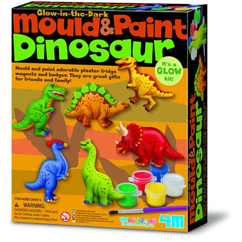 dinosaur mould and paint art kit for kids