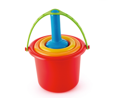 hape 5 in one sand toys set