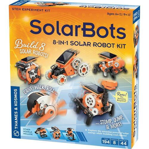 Thames and Kosmos Solar Bots robot science kit for kids