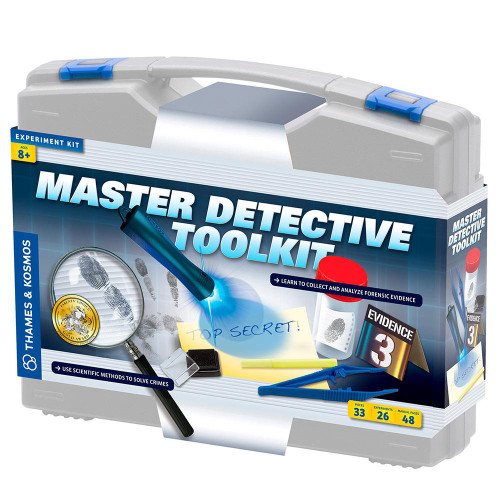 Thames and Kosmos Master Detective Toolkit science kit for kids