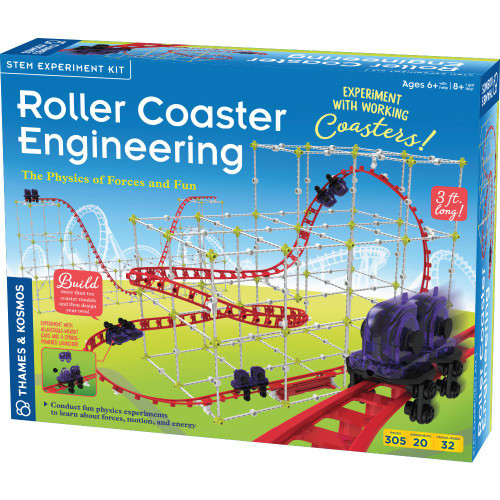 Thames and Kosmos Roller coaster engineering science kit for kids