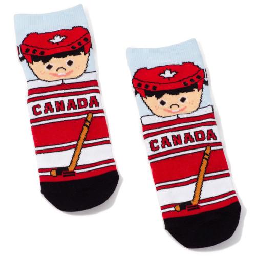 lil hockey player socks for kids