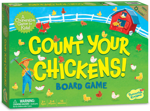 Count Your Chickens  Game  3yrs+