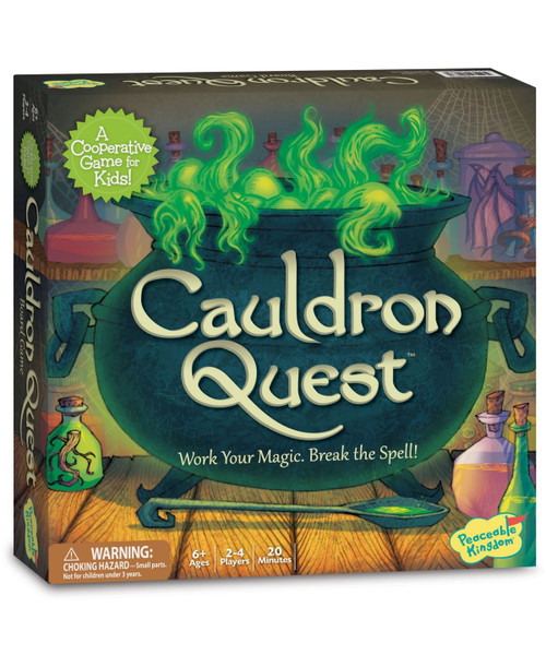 Cauldron Quest Game - 6+