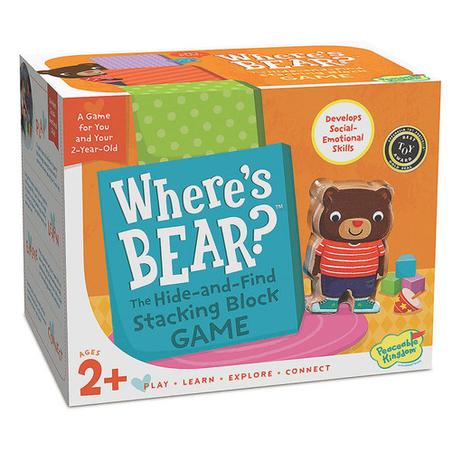 Where's Bear Game 2yrs+