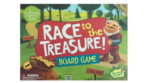 Race to the Treasure Game - 5+