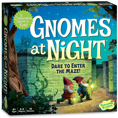 Gnomes at Night Game - 6+