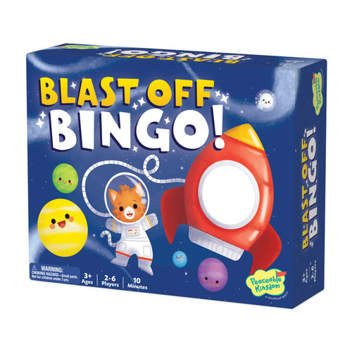 Blast Off Bingo Game 3+