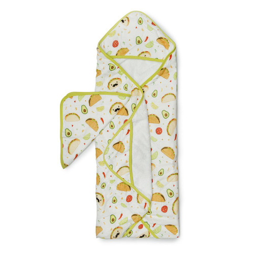 Loulou Lollipop Hooded Towel Set-Taco