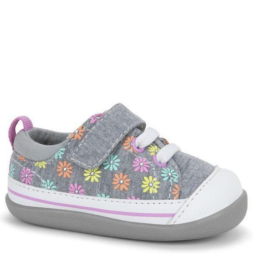 See Kai Run sneaker canvas toddler first walker