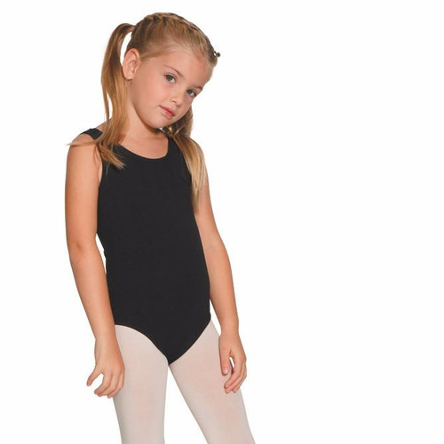 Mondor  black dance leotard child