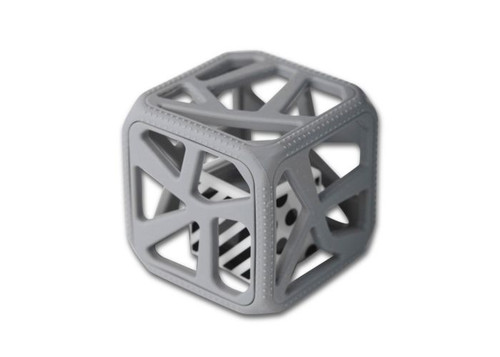 Chew Cube-Dark Grey