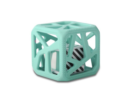Chew Cube-Mint Green