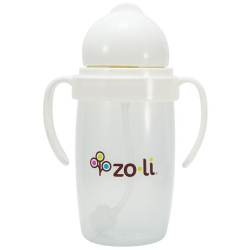 Zoli Bot 2.0 10 oz Sippy Cup-White