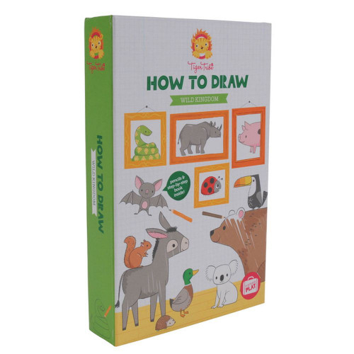 How To Draw-Wild Kingdom 5yrs+