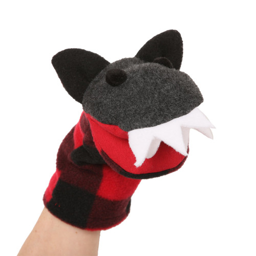 "Canadian Wolf Puppet-9"" long"