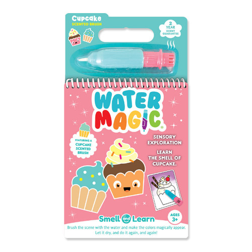 smell and learn water activity set, cupcake scent