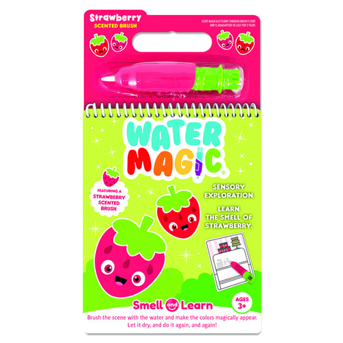 smell and learn water activity set, strawberry scent