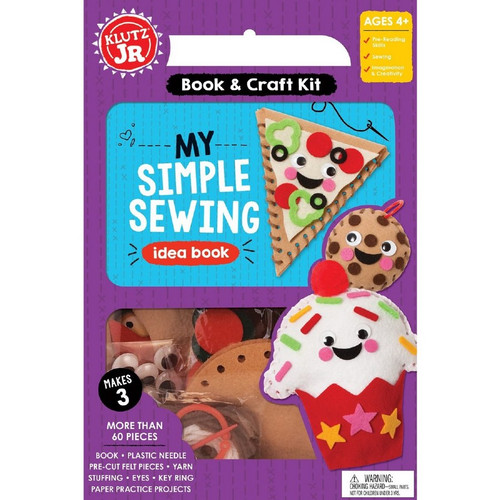 Klutz Jr. Simple Sewing 4+