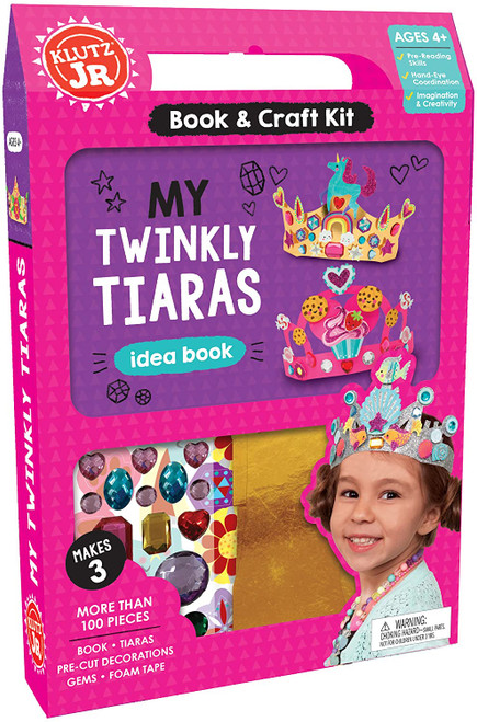 Klutz Jr. My Twinkly Tiaras 4yrs+