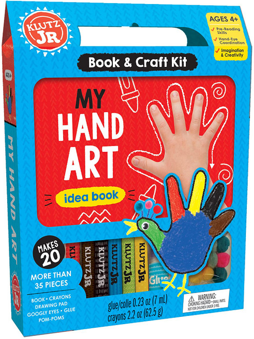 Klutz Jr. My Hand Art Kit 4yrs+