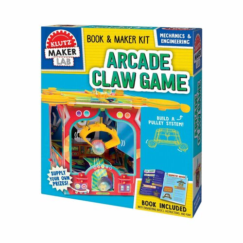 Klutz Maker Lab: Arcade Claw 8yrs+