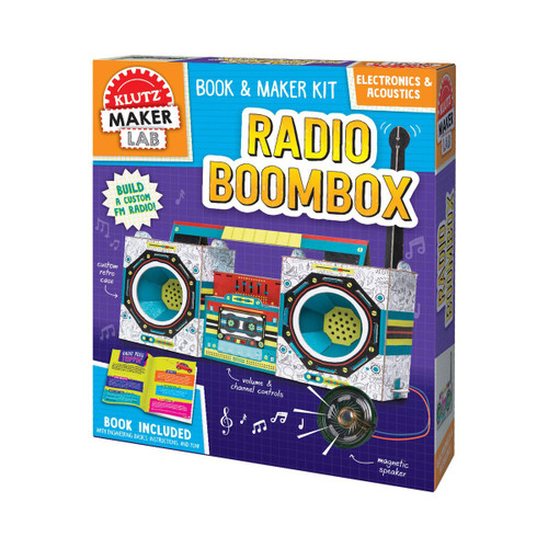 Klutz Maker Lab: Radio Boombox 8+