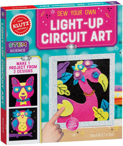 Klutz Sew Your Own Light-Up Circuit Art - 10+