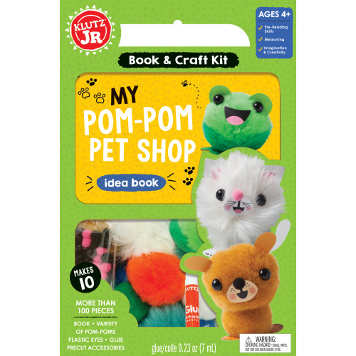 Klutz Jr. Pom Pom Pet Shop 4+