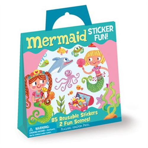 Sticker Tote-Mermaid
