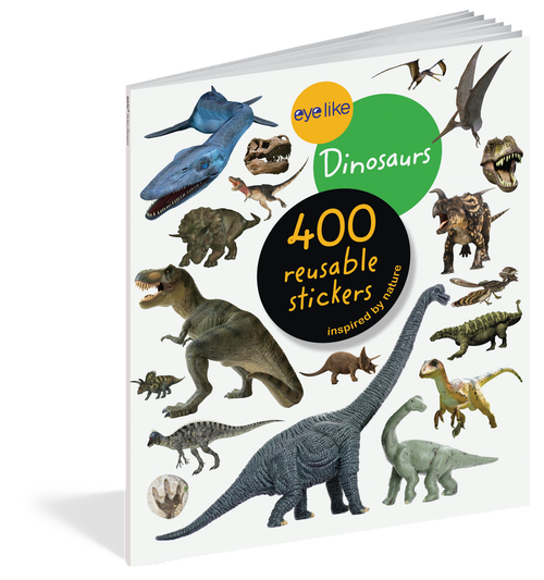 Eyelike sticker book-dinosaurs