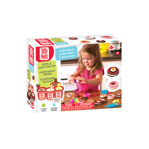 tutti frutti cookie maker modelling dough set